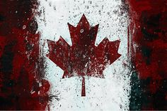 Canada-Canadian-Flag-24-x36-Canvas-Wall-Art-Print