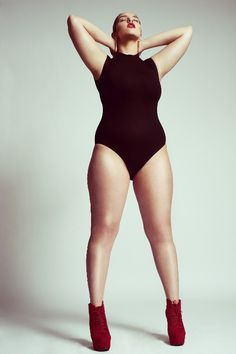 Plus Size Model Trea
