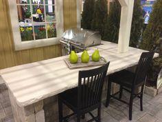 Hard Topix - Precast Concrete Countertops | Outdoor Bar | Outdoor Kitchen | Outdoor Grilling Area | Grand Rapids, MI
