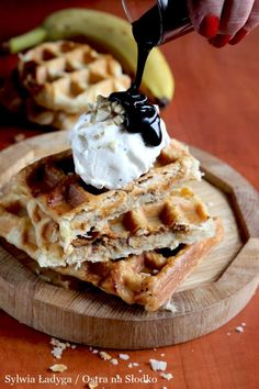 Feta, Donuts, Waffles, Food And Drink, Pie, Sweets, Meals, Breakfast, Recipes