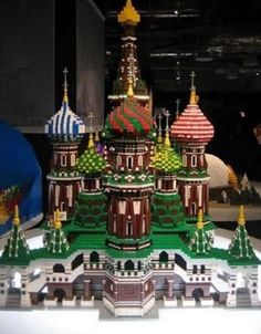 lego creations - Russian buildings