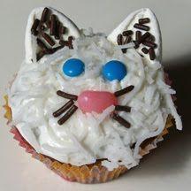 Catsparella: Cat Cupcake With coconut fur