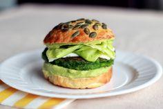 Green burger - Yummix Recettes saines et gourmandes au Thermomix