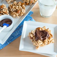 Don't bother with bowls. Cereal bars with Nutella® are a super simple breakfast on the go—and they don't get soggy!