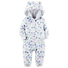 Geo Wolf Head Baby Boys Girls Jumpsuit Overall Romper Bodysuit Summer Clothes White