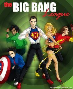 Big Bang Theory Super Heroes