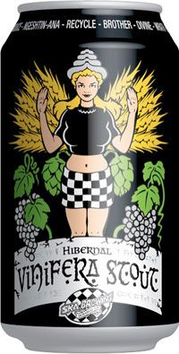 """Vinifera Stout.   Happy to see some """"real"""" women on packaging. PD"""