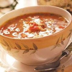 Taste of Home Low Sodium Soup Recipes - Looking for low sodium soup recipes? Find recipes for low sodium soups including chicken soup recipes, vegetable soup recipes, and more low sodium soup recipes. Low Sodium Soup, Low Sodium Recipes, Soup Recipes, Healthy Recipes, Yummy Recipes, Free Recipes, Dessert Recipes, Alphabet Pasta, Christmas Recipes For Kids