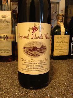 Thousand Islands Winery North Country Red