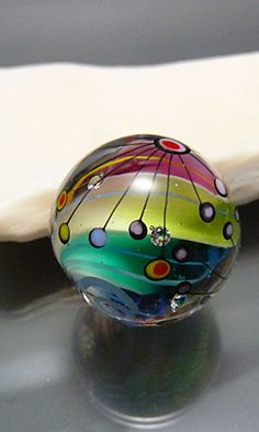 Paperweights. Marble glass bead.