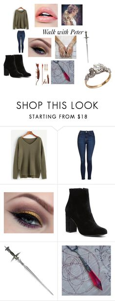 """Walk with Peter"" by kayla-iz-here on Polyvore featuring Topshop, Witchery and S.W.O.R.D."