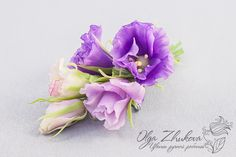 ceramic floristry, cold porcelain, polymer clay flowers