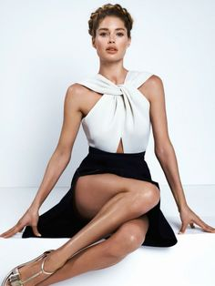Doutzen Kroes da Cuneyt Akerglou per Vogue Marzo 2014