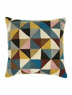 Harlequin cushion 50cm x 50cm multi