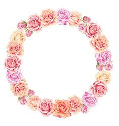 цветы, венок, розы