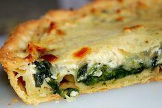 Cooking with Zoki: Pita ( kiš ) od sira i spanaća