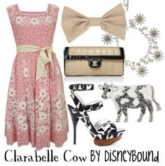 love me some clarabelle...that pink dress is adorable!