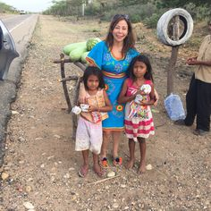 The money you spend buying a brandnative bag, directly supports these beautiful children in the tribes of Colombia
