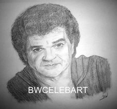 CONWAY TWITTY  GRAPHITE PENCIL DRAWING COUNTRY MUSIC LEGEND HELLO DARLIN'  #Realism