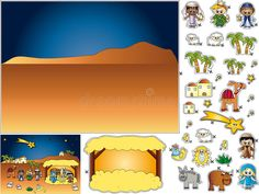 Download Nativity Cut And Paste Royalty Free Stock Image - Image: 16634696