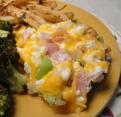 Western Skinny Scramble (Low Fat) from Food.com: This recipe starts out with egg whites that are cooked in the microwave then cooked in a skillet with Canadian bacon, onion and bell pepper and topped off with some cheddar cheese. From The Most Decadent Diet Ever cookbook by Devin Alexander, author of The Biggest Loser Cookbook.