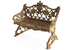 Cast Iron Bench I