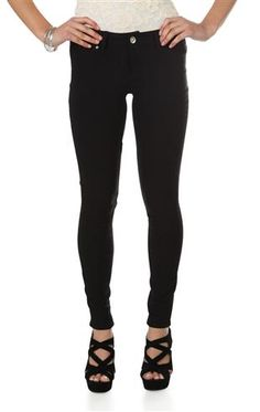 ymi super stretch color skinny jeans