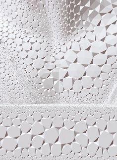 white shapes