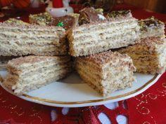 Retete culinare : Prajitura Ileana, Reteta postata de MIUTA in categoria Prajituri Romanian Desserts, Romanian Food, Baking Recipes, Cookie Recipes, Dessert Recipes, Good Food, Yummy Food, Hungarian Recipes, No Bake Treats