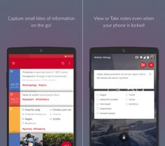 Microsoft's new note-taking Android app works on the lockscreen