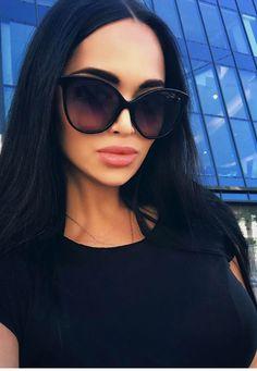 Cat Eye Sunglasses, Sunglasses Women, Nita Kuzmina, Cute Gifts, Shades, Instagram Posts, File Size, Black, Goodies