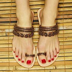 Leather Sandals, Shoes Sandals, Women Sandals, Flat Sandals, Mystique Sandals, Trendy Sandals, Bridal Sandals, Jeweled Sandals, Comfy Shoes