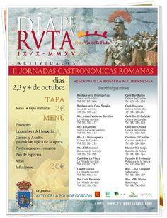 II Jornadas Gastronómicas Romanas en La Pola de Gordón