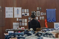 jo fowles - september 2012 artist-in-residence by harvest textiles | harvest workroom, via Flickr