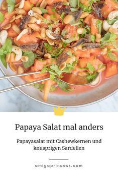 Papaya Salat, Bbq, Ethnic Recipes, Dressing, Food, Life, Grilled Fish, Salads, Tomatoes