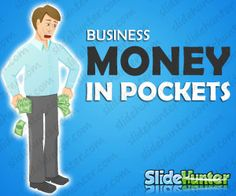 Money In Pockets Illustration for business  presentations in PowerPoint, Keynote and Adobe Illustrator, free download