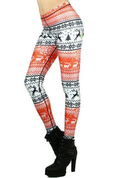Reindeer Joy Leggings