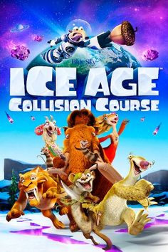 Ice Age 5 Collision Course Movie DVD