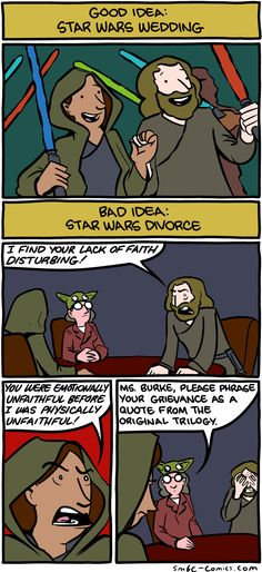 """""""there is another"""" // funny pictures - funny photos - funny images - funny pics - funny quotes - Smbc Comics, War Comics, Funny Comics, Funny Images, Funny Photos, Best Funny Pictures, Funny Jokes, Hilarious, Star Wars Wedding"""