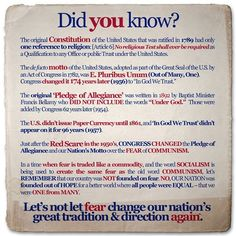 Constitution facts.
