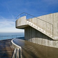 This house overlooks the sea in Getaria, northern Spain. #Architecture