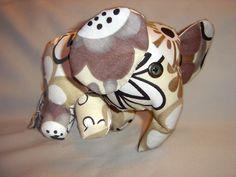 little black teapot: Plush Baby Elephant Tutorial