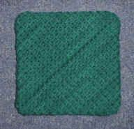 Diagonal Hotpad - Mielke's Fiber Arts Double-sided using cotton yarn. Free pattern with picture tutorial.  10-21-16