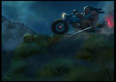 ArtStation - Cliff, Fernando Peque