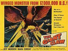 The Giant Claw 1957  starring Jeff Morrow, Mara Corday