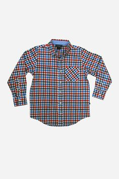 Toobydoo Flannel Boys Shirt from Mini Ruby