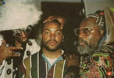 Bootsy Collins, Ice Cube and George Clinton