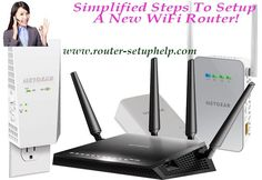 Simplified Steps To Setup A New WiFi Router! Wifi Modem Router, Wireless Router, Wifi Extender, Radio Wave, Up And Running, How Are You Feeling, Range, Cookers, Stove