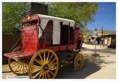 Stagecoach, Old Tuscon Movie Studio, Tucson, Arizona