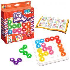 Idée jeu de société : IQ Candy, 60 jeux de logique